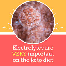 electrolytes are very important on the keto t lilja s low carb food list