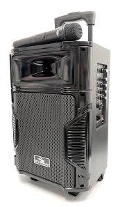 Loa Kéo Di Động Karaoke Bluetooth K108 Kiomic Âm Thanh Cực Đỉnh 150W(Tặng  kèm 1 micro không dây cao cấp)