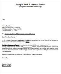 Recommendation Letter For Visa Application Sample Bank Reference Recommendation Letter Format For Bank