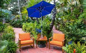 garden oasis umbrella.  Umbrella Small Backyard Ideasu2013A Bold U0026 Bright Garden Oasis  To Oasis Umbrella U