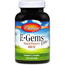 Купить <b>Витамин Е</b>, <b>E</b>-<b>Gems Elite</b>, Carlson Labs, 400 МЕ, 120 ...