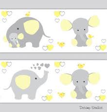 image is loading yellow gray elephant neutral nursery wallpaper border wall  on yellow and grey wall art nursery with yellow gray elephant neutral nursery wallpaper border wall art