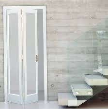 modern bifold doors frosted glass design ilw129