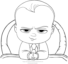 Boss Baby Coloring Page New Designboss Baby Coloring Pages