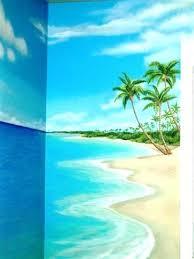 tropical murals beach scene wallpaper murals beach themed wall murals bedroom mural tropical scene beach themed