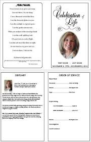 Funeral Templates Free Inspiration Everything You Need To Know About Creating A Funeral Program
