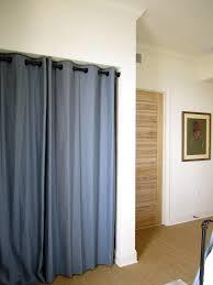 Stylish Curtains Instead Of Closet Doors Designs with Closet Curtains  Instead Of Doors