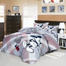 We Love Mickey Mouse Gray Disney Bedding Set