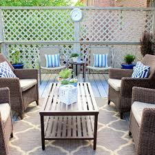 Outdoor Living Room Furniture For Your Patio Outdoor Patio Rugs A New Displayed Your Living Room Canada