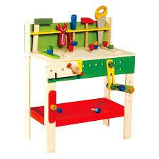 childrens tool workbench toy kids kit bench work station ...
