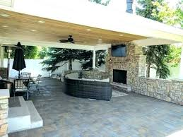 covered patio fire pit outdoor fireplace cover elegant metal dimensions about amazing custom covers photograph porch covered patio fire