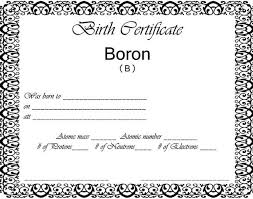 Blank Birth Certificate Images
