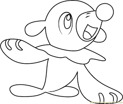 Primarina Pokemon Coloring Pages Images Sketch Coloring Page