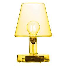 Modern Table Lamps Fatboy Transloetje Yellow Eurway