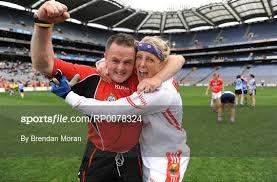Backroom Team Member Cork V Dublin Tg4 All Ireland Ladies Football Sportsfile