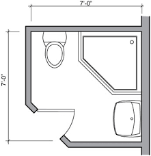 Square Bathroom Layout Bathroom Plans Bathroom Layouts
