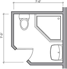 Square Bathroom Layout Bathroom Plans Bathroom Layouts