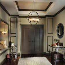 awesome orb chandelier for foyer chandeliers with tray ceilings and wall paneling also bench seating plus entryway table with entryway chandelier