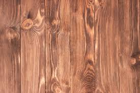 Dark Stained Distressed Wooden Floor Board Texture Stock Image