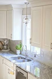 Kitchen Counter And Backsplash Ideas Adorable Viscon White Granite Transitional Kitchens Kitchen DecorIdeas