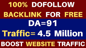 Create High Quality Dofollow BackLinks | High DA PA Sites - YouTube
