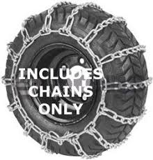 Tire Chains Size 410 X 350 X 4 Two Link Spacing For Cross