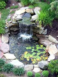 Backyard Waterfalls Pictures Small Waterfall Ideas Diy Small Pond