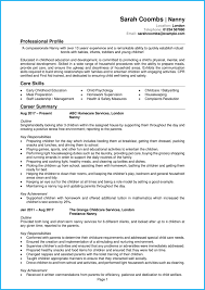 Childcare Cv Example Writing Tips Get Hired Quick