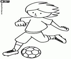 Kleurplaten Voetbal Kleurplaat