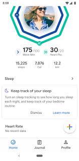 Google Fit Update Brings Dark Mode Sleep Charts And More