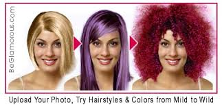 upload your photo try hairstyles and hair colors