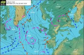 Halifax Uk Weather Data Surface Pressure Chart