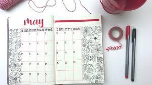 How to - Bullet Journal Calendar Ideas