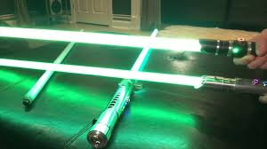 comparison photon green chemically enhanced lightsaber string blade vs green aqua string blades you