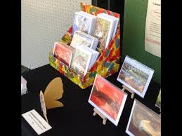 Craft Show Display Stands How to make a Greeting Card display stand by Nkolika Anyabolu 89