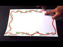Chart Border Decoration Ideas Chart Design Ideas For School Project Bedowntowndaytona Com