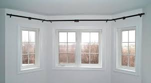 bay window rods adding bay window ds curtains adding flexible bay bend curtain pole adding ceiling