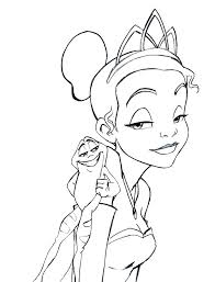 impressive princess tiana coloring sheets p9172 princess coloring page princess and the frog coloring pages for