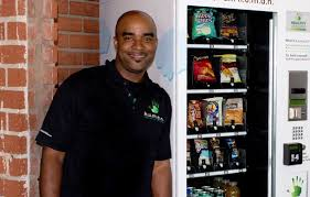 Vending Machine Entrepreneur New Franchise Players From Waiting Tables To Running A Healthy Vending