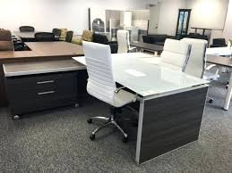 post glass home office desks. Computer In Glass Desk Chair Graceful White And Large Top Black . Post Home Office Desks R