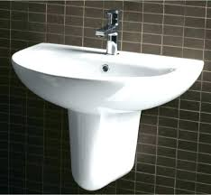 Wall Hung Sinks Bathroom How To Install A Mount Sink  Plumbing20