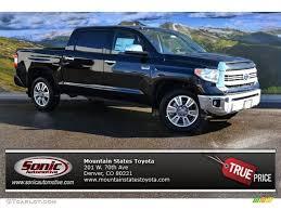 2015 Attitude Black Metallic Toyota Tundra 1794 Edition CrewMax ...