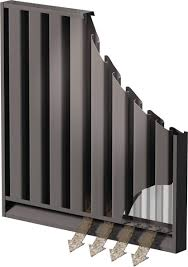 Sand Trap Louver Design Operation And Functioning Of Sand Trap Louver With Bird Screen