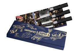 Купить <b>Набор из 3 кухонных</b> ножей Samura SUPER 5 SP5-0220C ...