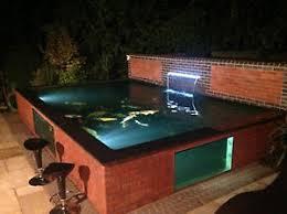 koi pond lighting ideas. interesting pond image is loading buildapondwithakoipondwindow throughout koi pond lighting ideas s