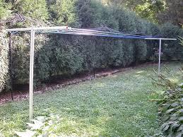 outdoor clothesline diy