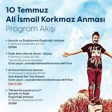 ALİKEV, Ölümünün Sekizinci Yılında Ali İsmail Korkmaz'ı Anıyor - Sivil  Sayfalar