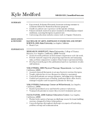 Research Assistant Resume Stunning 101 Research Assistant Resume Example Sample