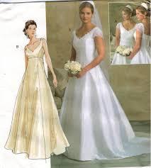 Simplicity Wedding Dress Patterns Classy Bridal Gown Pattern Wedding Dress Patterns Simplicity Design Ideas