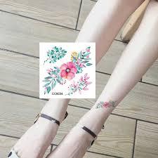татуировки на руку водостойкая временная татуировка ангел роза лотос мужчины
